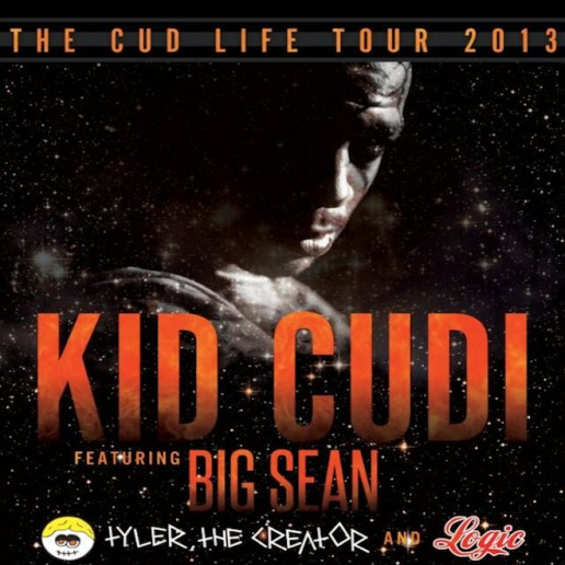 Kid Cudi Announces Fall Tour Dates with Big Sean, Tyler, the Creator, ScHoolboy Q, Juicy J & Logic