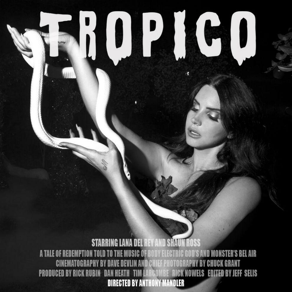 Lana Del Rey Teases Short Film 'Tropico'
