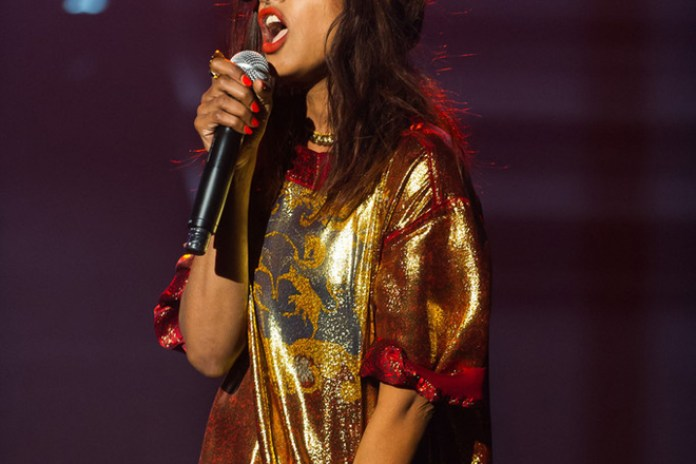M.I.A. Performs New Song In Montreal