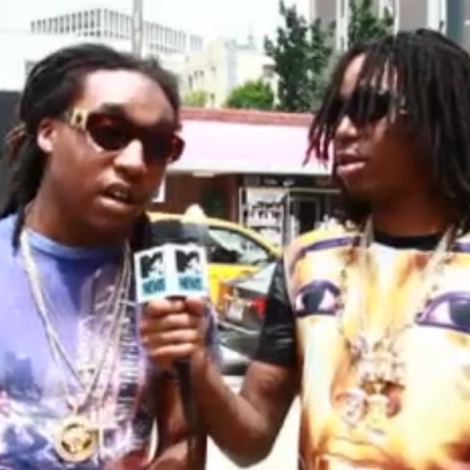 "Migos Speak on Drake's ""Versace"" Remix"