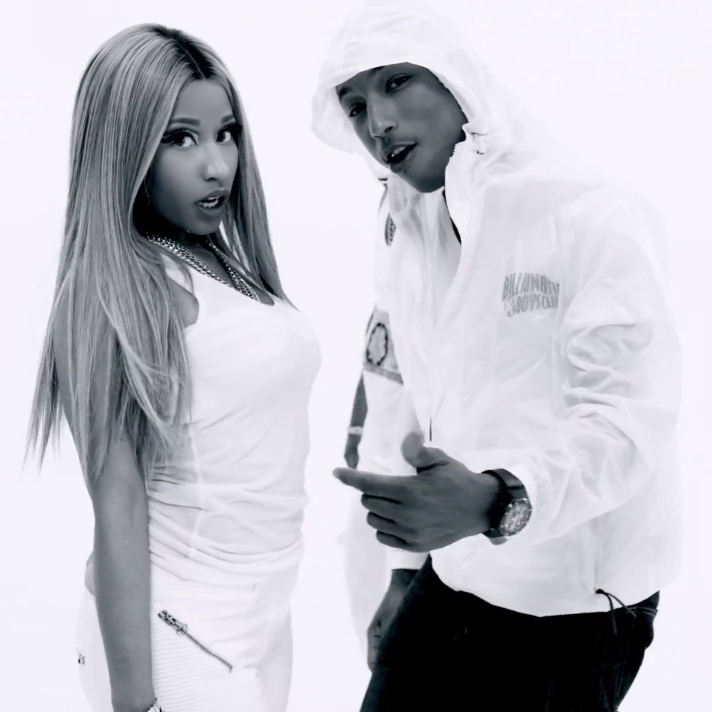 Nelly featuring Nicki Minaj & Pharrell - Get Like Me