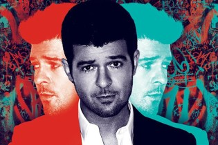 Robin Thicke - Blurred Lines (Album Snippets)