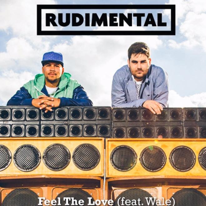 Rudimental featuring Wale - Feel the Love (Remix)