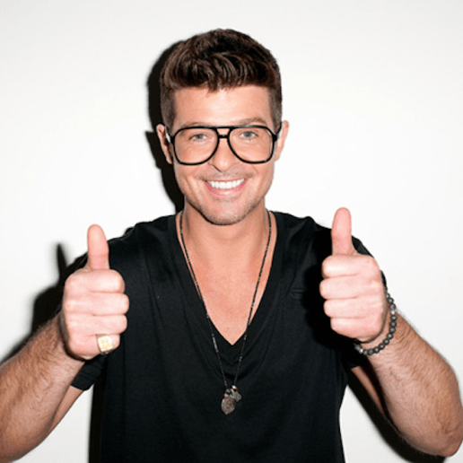 Listen to Robin Thicke's 'Blurred Lines' Bonus Tracks