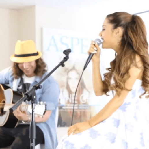 "Ariana Grande - ""The Way"" x ""Baby I"" (Acoustic Versions)"