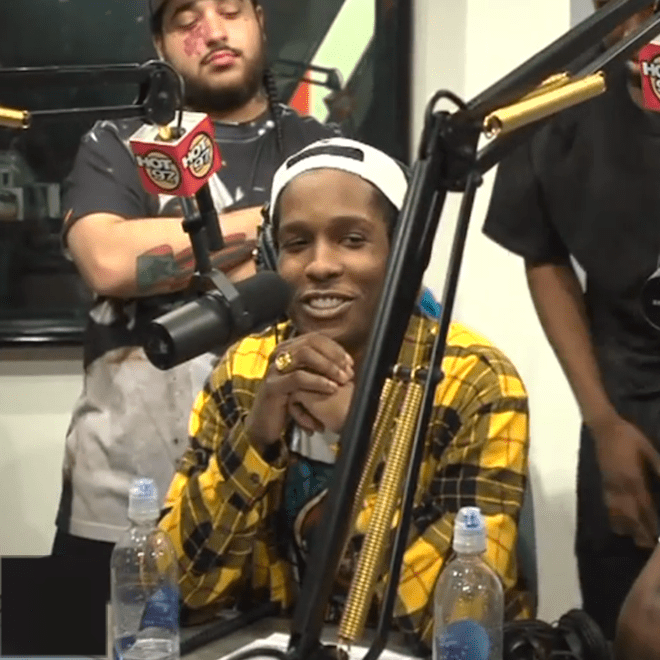 """A$AP Mob Speaks on """"Control"""" and Freestyles on Funk Master Flex"""
