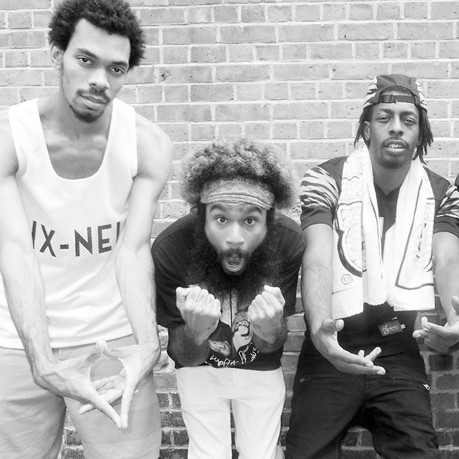 Flatbush ZOMBiES, eXquire, Nitty Scott & Dyme-A-Duzin RapFix Live Freestyle