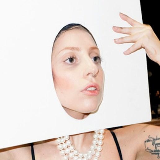 Terry Richardson Photographs Lady Gaga Backstage at the VMAs