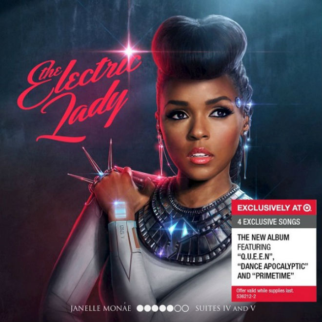 Janelle Monáe – The Electric Lady (Artwork & Tracklist)