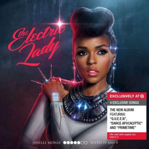 Janelle Monáe – The Electric Lady (Artwork & Tracklist)