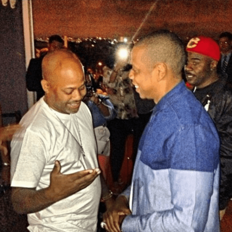 Jay Z Spotted with Dame Dash