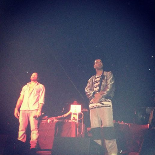 Kanye West, the Weeknd, Miguel, A$AP Rocky, TLC & More Showed Up at Drake's OVO Fest