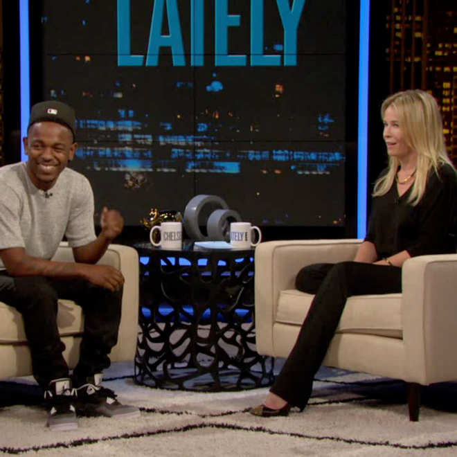 Kendrick Lamar Talks VMAs and Competitiveness with Chelsea Lately