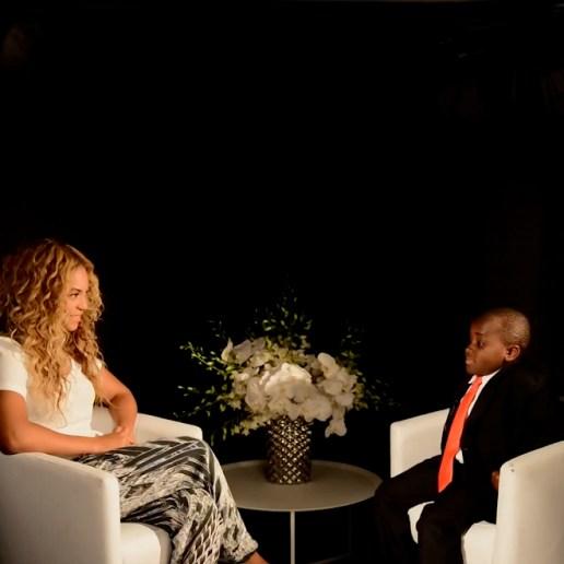 Kid President Interviews Beyoncé