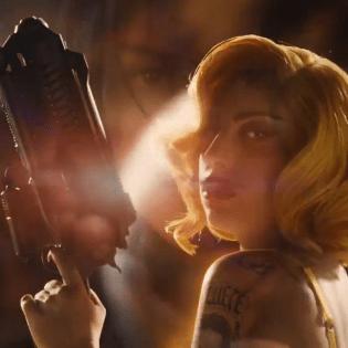 Lady Gaga Strapped with Machine Gun in 'Machete Kills' Trailer