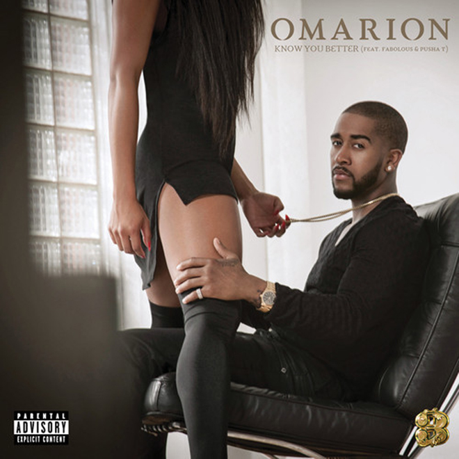 Omarion featuring Pusha T & Fabolous - Know You Better