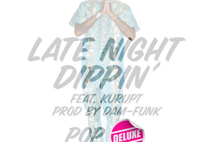 Polyester The Saint featuring Kurupt - Late Night Dippin' (Remix) (Produced by Dam-Funk)