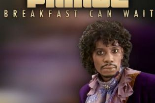 "Prince Shares ""Breakfast Can Wait"" Cover Art featuring Dave Chappelle"