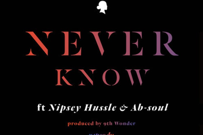 Rapsody featuring Nipsey Hussle, Ab-Soul & Terrace Martin - Never Know