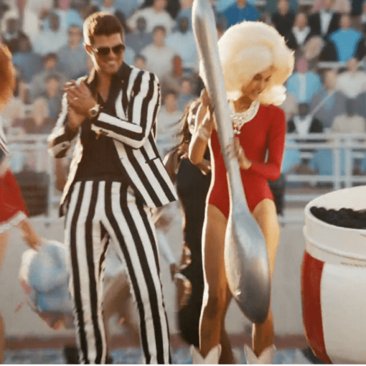 Robin Thicke featuring 2 Chainz & Kendrick Lamar – Give It 2 U