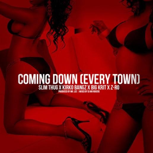Slim Thug featuring Kirko Bangz, Big K.R.I.T. & Z-Ro - Coming Down (Every Town)