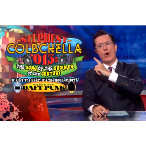 Stephen Colbert & Friends Get Creative In Light of Daft Punk Cancelation