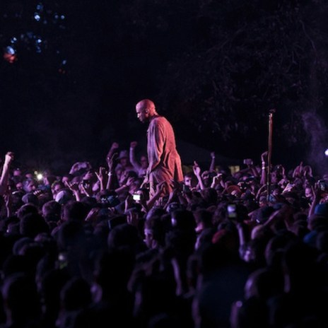 "Travi$ Scott Brings Out Kanye West to Perform ""New Slaves"""