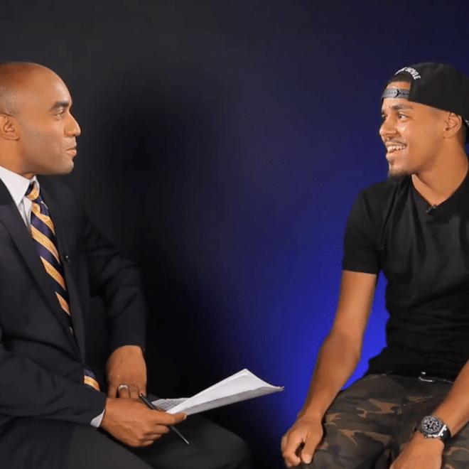 Wall Street Journal Interviews J. Cole