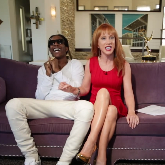 """A$AP Rocky """"Back and Forth"""" Teaser featuring Riff Raff, Snoop Dogg, Bun B & Kathy Griffin"""
