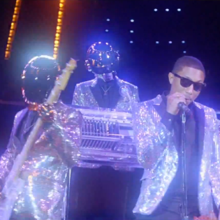 Daft Punk featuring Pharrell - Lose Yourself to Dance