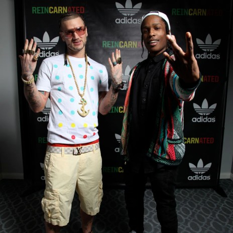 A$AP Rocky Interviews RiFF RAFF (Part 1)