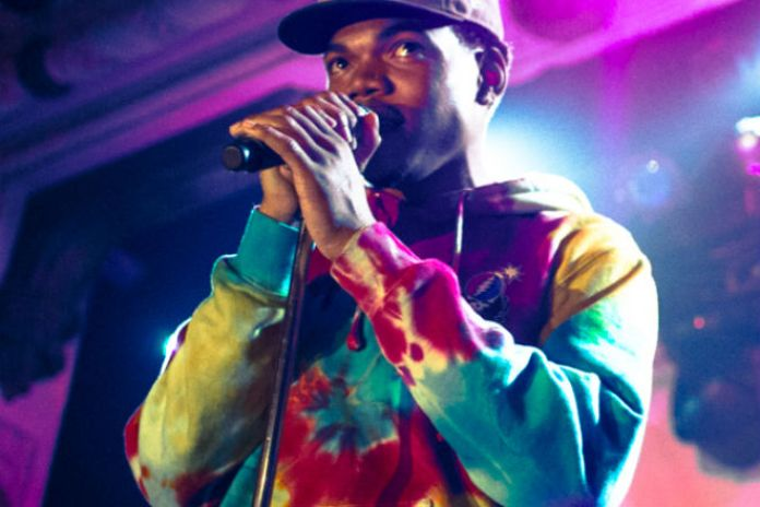 """Chance the Rapper Performs """"You Song"""" at UIC's Spark In The Park"""