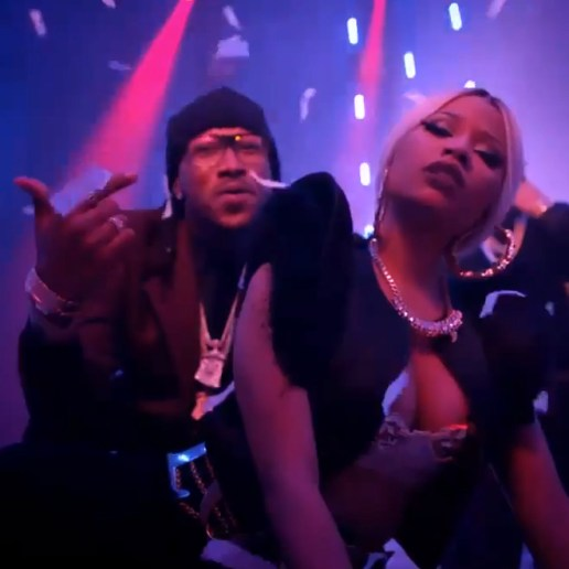 DJ Khaled featuring Nicki Minaj, Rick Ross & Future – I Wanna Be With You
