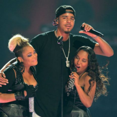 J. Cole Brings Out TLC & Miguel In Las Vegas