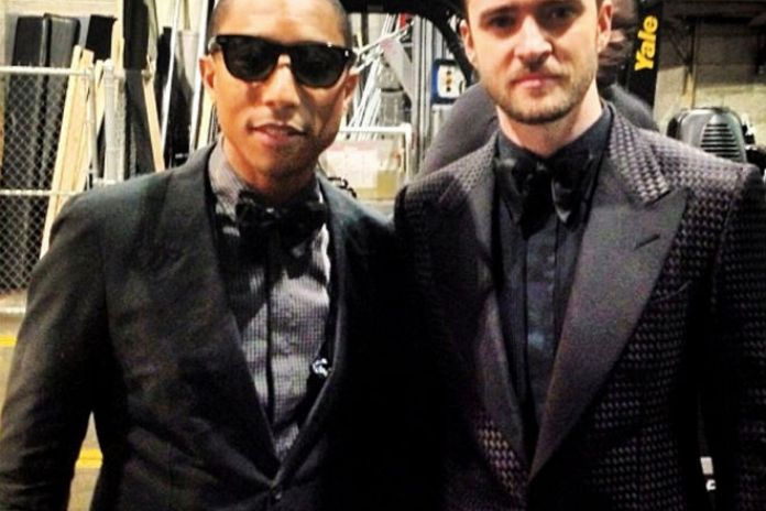 Justin Timberlake Confirms Working On Pharrell's Upcoming Solo Album