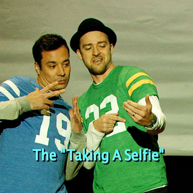 Justin Timberlake & Jimmy Fallon - The Evolution of End Zone Dancing
