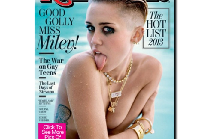 Miley Cyrus Covers Rolling Stones October Issue