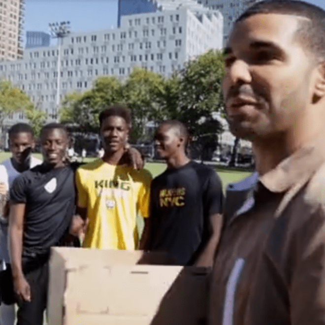 Watch Drake's FIFA 14 NYC Experience