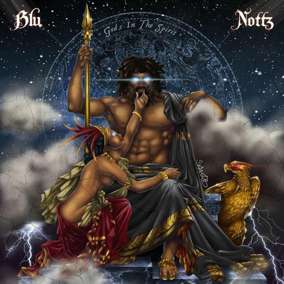 Blu & Nottz - Gods In The Spirit (Full EP Stream)