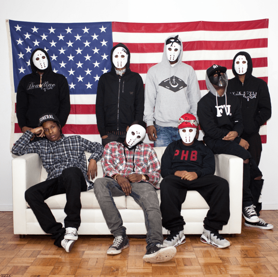 See A$AP Mob Backstage at CMJ 2013