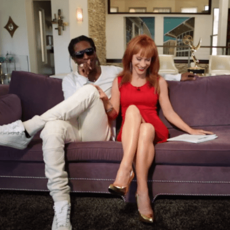 "A$AP Rocky Goes ""Back & Forth' with Kathy Griffin"