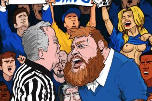 Action Bronson & Party Supplies – Blue Chips 2 (Artwork)