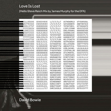 David Bowie - Love Is Lost (James Murphy Remix)