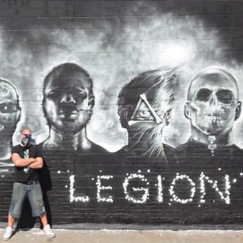 """Foreign Beggars x Noisia """"I Am Legion"""" EndoftheLine Mural Project Hits ..."""
