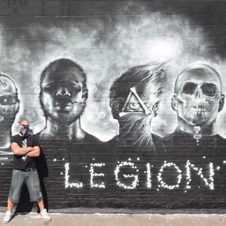 "Foreign Beggars x Noisia ""I Am Legion"" EndoftheLine Mural Project Hits LA and NYC"