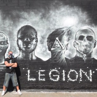 """Foreign Beggars x Noisia """"I Am Legion"""" EndoftheLine Mural Project Hits LA and NYC"""