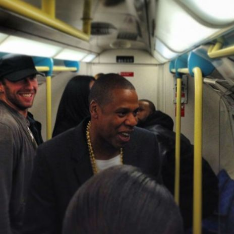 Jay Z, Timbaland & Chris Martin Surprise Fans by Taking London Tube to O2 Arena