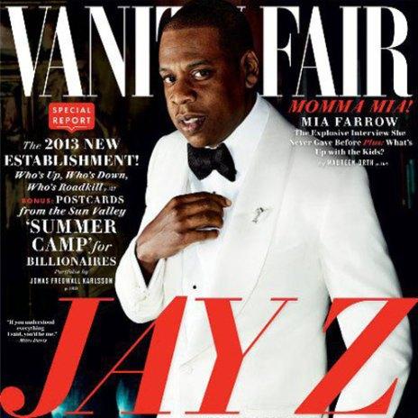Jay Z Covers Vanity Fair