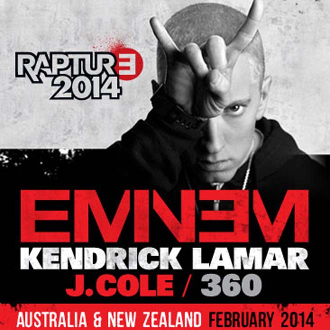 Kendrick Lamar & J. Cole to Join Eminem on 'Rapture' Tour
