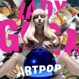 Lady Gaga Unveils Artwork for 'ARTPOP' - Designed byJeff Koons